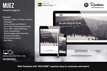 Muez - Creative Agency Muse Template
