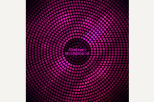 Abstract disco background with halft