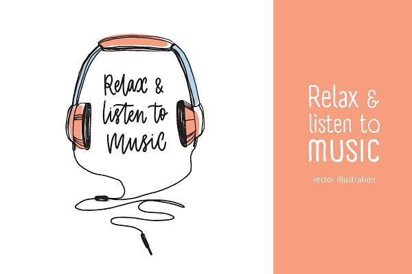 Relax and listen to music
