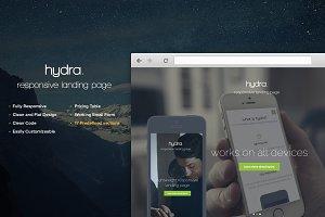 Hydra Landing Page