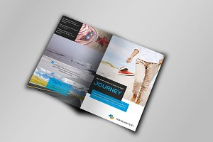 Coporate Travel Bi-Fold Brochure