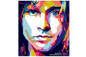 Kurt Cobain & Jim Morrison
