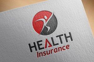 Health Insurance Style Logo