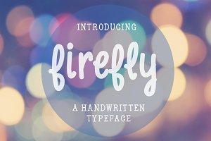 Firefly-handwritten font