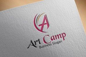 Art Camp Style Logo