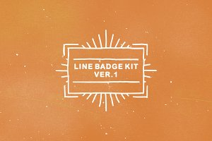 Line Badge Kit ver. 1