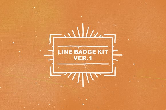 Line Badge Kit ver. 1 - Logos