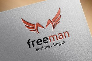 Free Man Style Logo