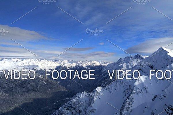 Caucasus Mountains scene in Sochi