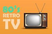 Realistic Retro TV