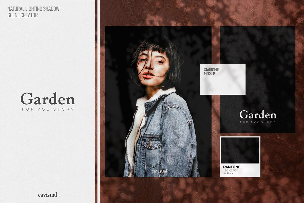 Garden - Natural Shadow Pack Vol.1 in Scene Creator Mockups - product preview 8