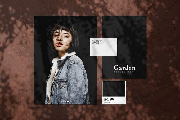 Garden - Natural Shadow Pack Vol.1 in Scene Creator Mockups - product preview 2
