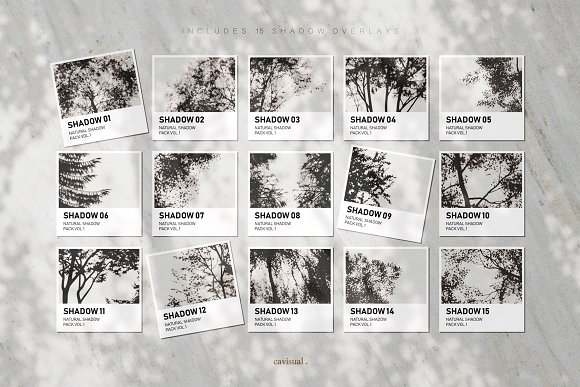 Garden - Natural Shadow Pack Vol.1 in Scene Creator Mockups - product preview 11
