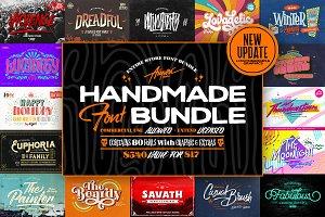 Aiyari Handmade Font Bundle + Extras
