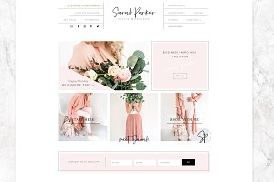 Sarah Parker-Wordpress Genesis Theme