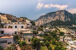 View over capri