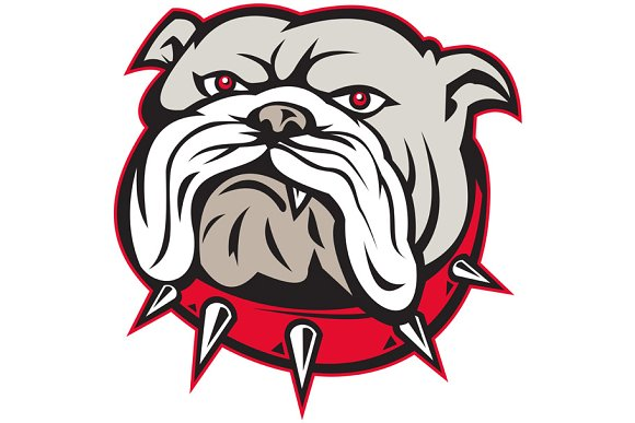 Bulldog Head Front