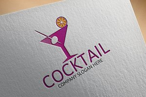 Cocktail Bar Logo