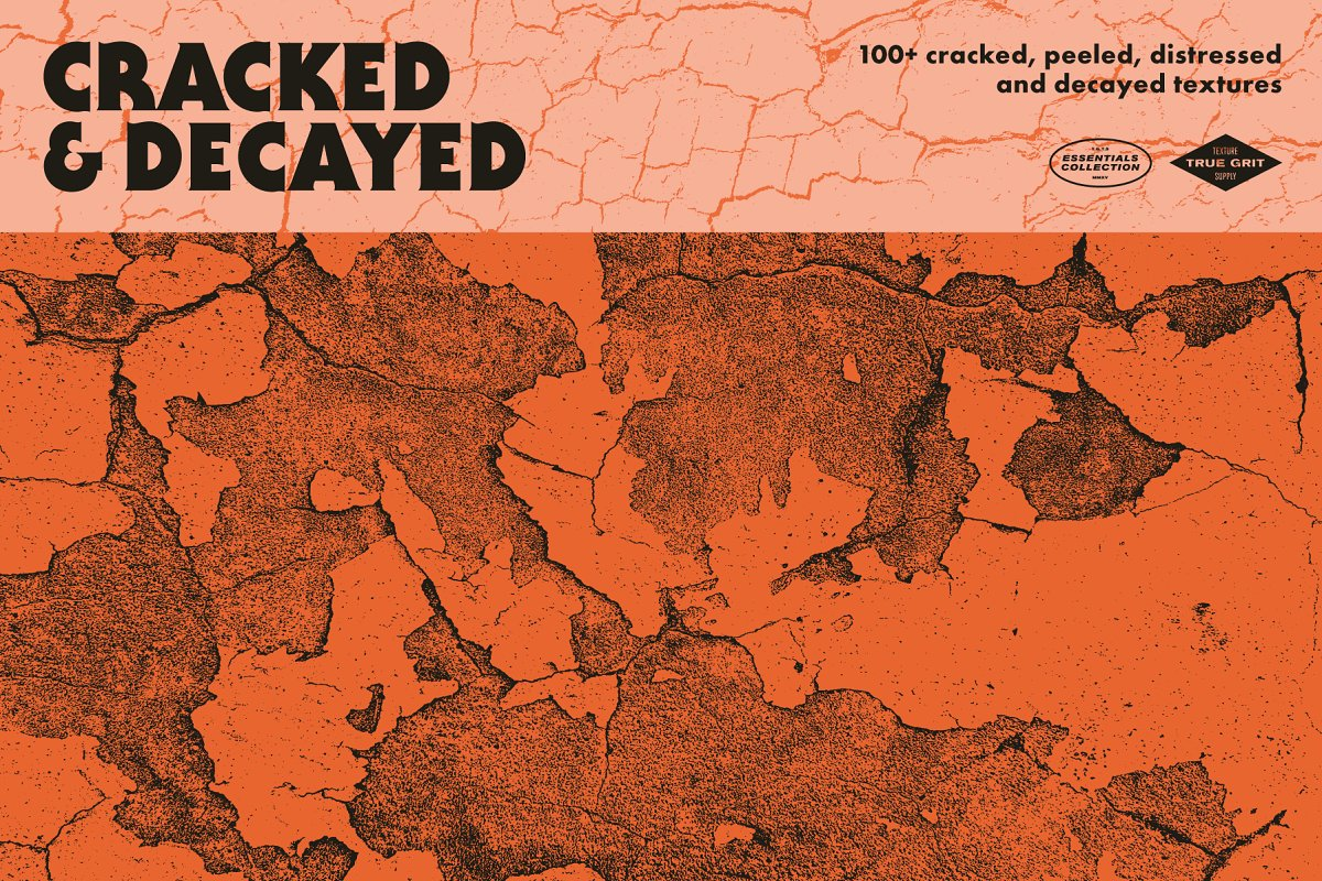 Cracked & Decayed Texture Pack in Textures - product preview 8