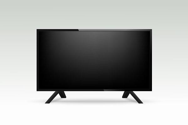 Mockup Realistic TV