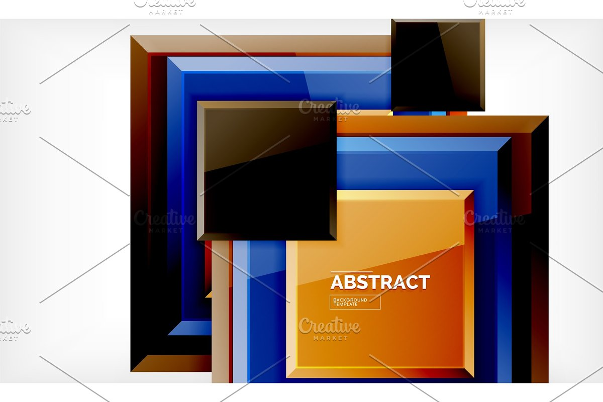 Geometric abstract background in Illustrations - product preview 8