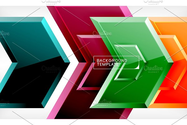 Arrow geometrical abstract