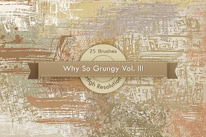 Why So Grungy V3 Photoshop Brushes