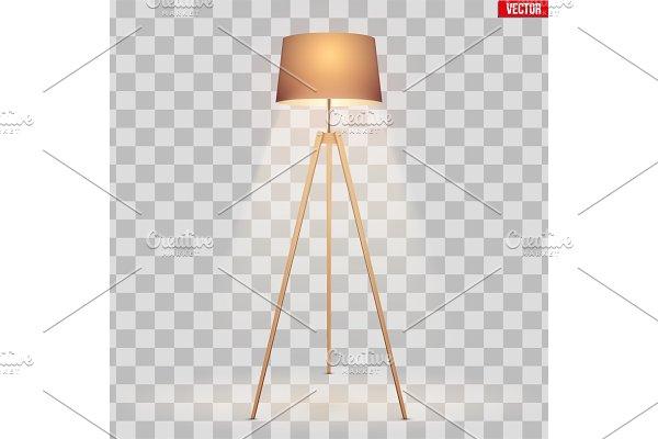Decorative Floor Lamp Tripod