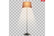 Classic Floor Lamp with Shade