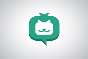 Chat Cat Logo