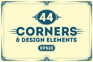 Brutal Corners and Design Elements