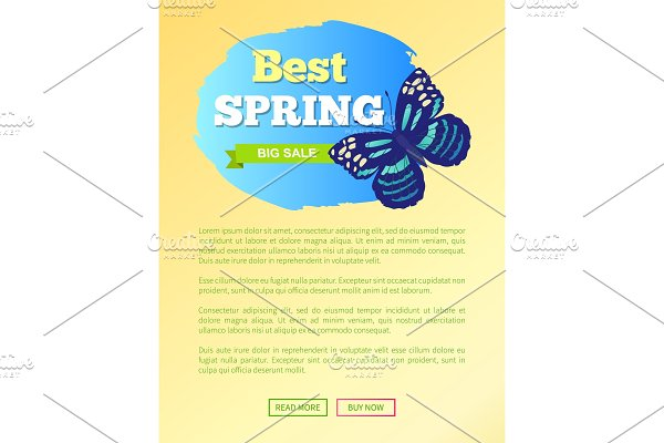 Best Spring Sale Label Butterfly