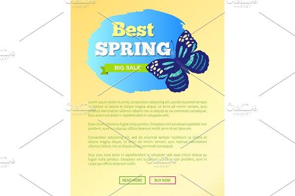 Best Spring Sale Label Butterfly