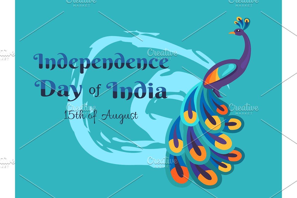 India Happy Independence Day in Objects - product preview 8