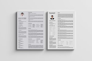 Clean and Professional CV / Resumes