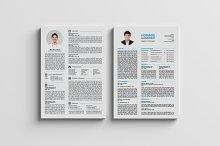 Top 2 Page CV / Resumes / A4