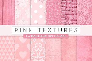 Pink Digital Textures