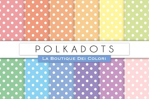 Polkadots Digital Papers
