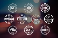 10 Retro Badges Vol. 18