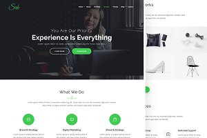 SRK – One Page Parallax WordPress