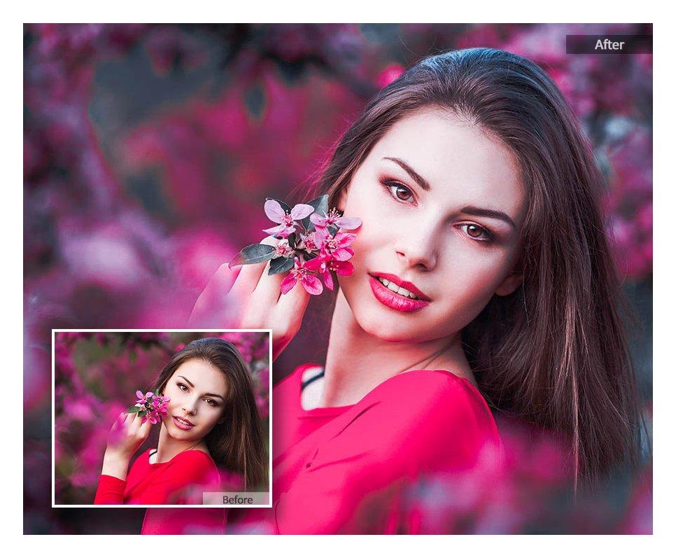 preview 4 115 Lovely Color Lightroom Presets - CreativeMarket 3218801