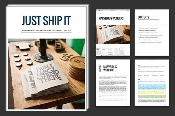 iBooks Author template bundle ~ Magazine Templates ~ Creative Market