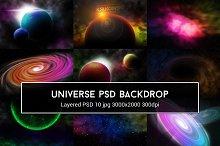 Universe PSD Backdrop