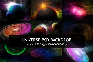 Universe PSD Backdrop