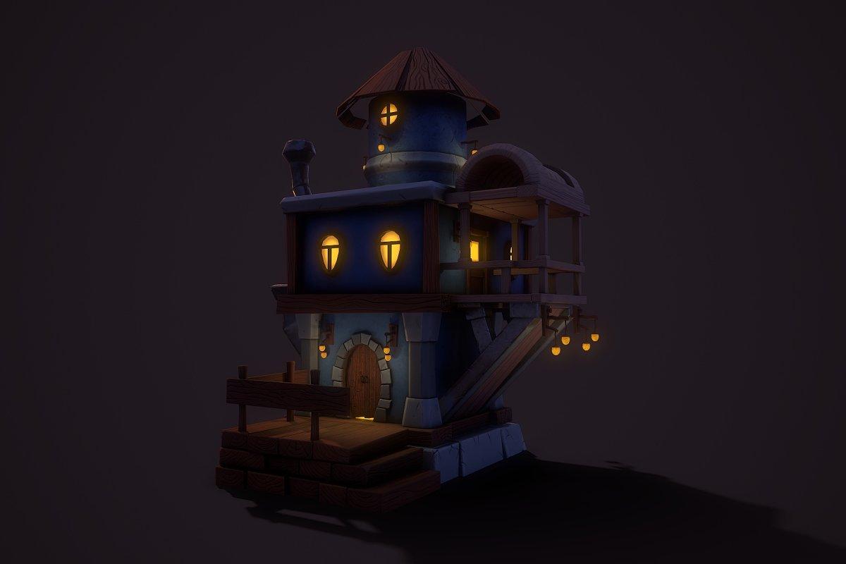 Fantasy Teapot House