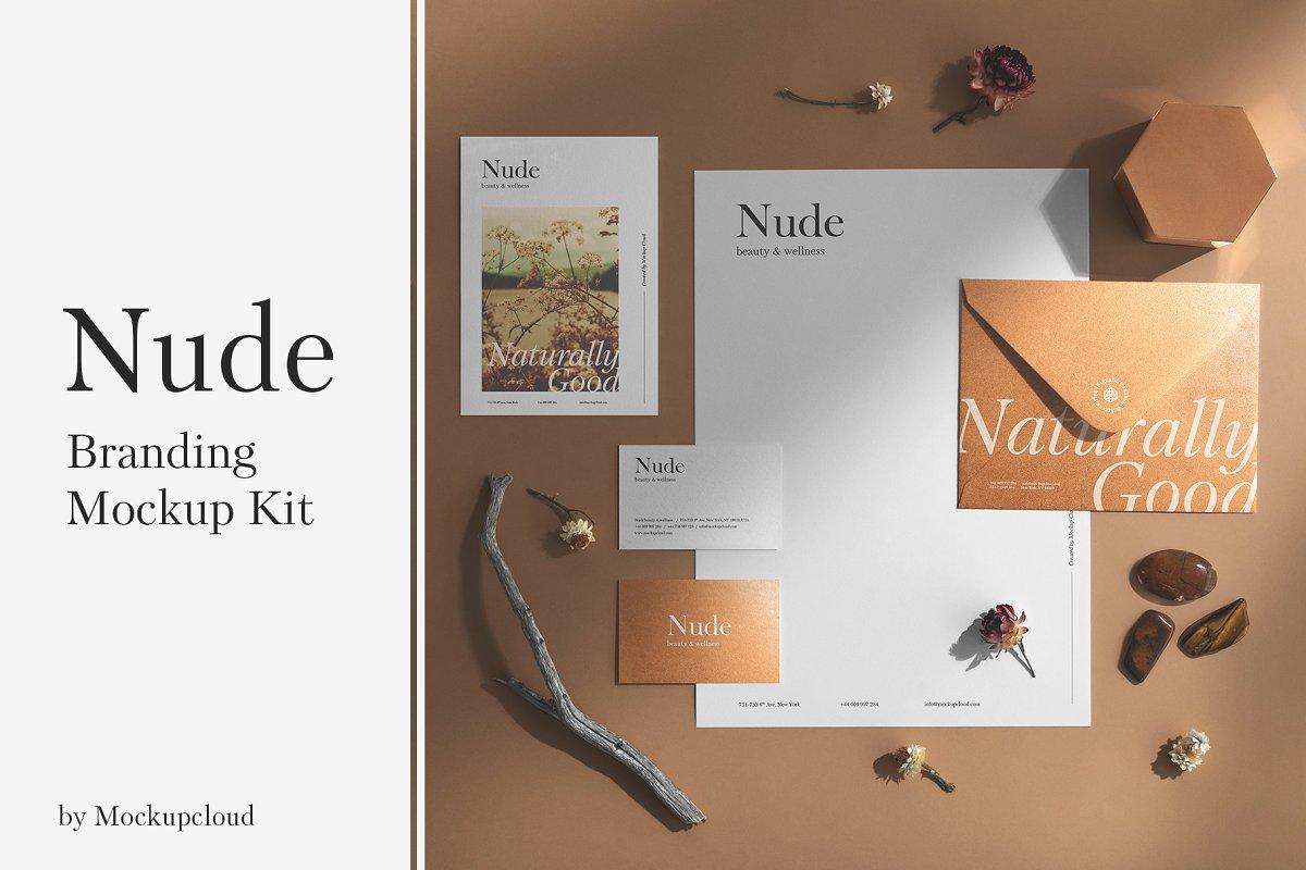Nude Branding Mockup