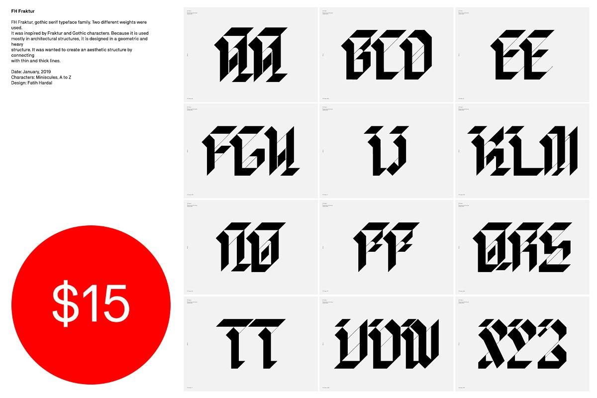 FH Fraktur™ Typeface ~ Fonts ~ Creative Market