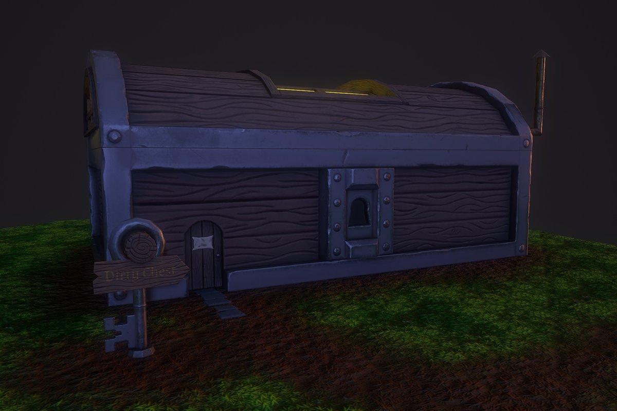 Fantasy Chest House