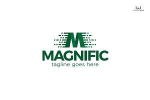 Magnific - Letter M Logo
