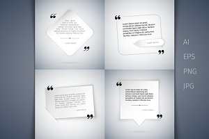 Four Simple Quote Templates